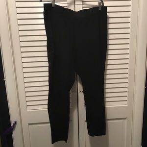 Simple black Pull-On Pants size 3X